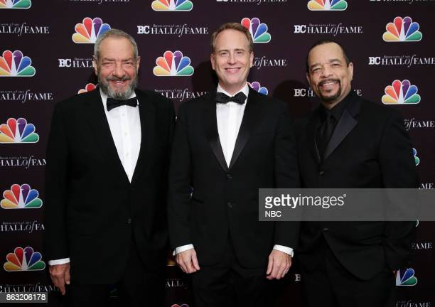 EVENTS Broadcasting Cable 27th Annual Hall of Fame Pictured Dick Wolf Robert Greenblatt Chairman NBC Entertainment honoree IceT