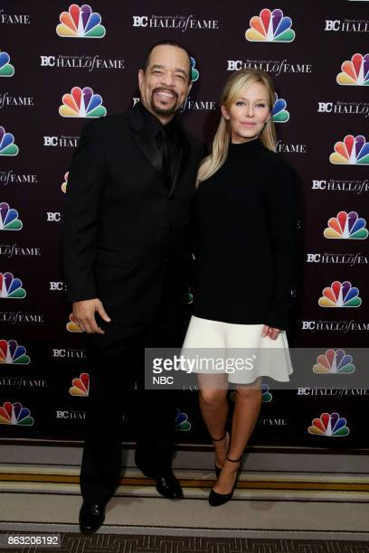 EVENTS Broadcasting Cable 27th Annual Hall of Fame Pictured IceT Kelli Giddish