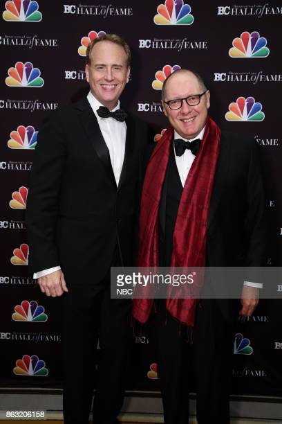 EVENTS Broadcasting Cable 27th Annual Hall of Fame Pictured Robert Greenblatt Chairman NBC Entertainment honoree James Spader