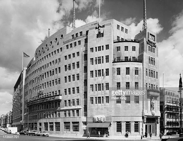 Broadcasting House, Portland Place, London, August 1961.