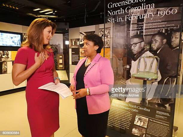 Broadcasting inside the new National Museum of African American History and Culture CBS THIS MORNING cohost Norah O'Donnell talks with Attorney...