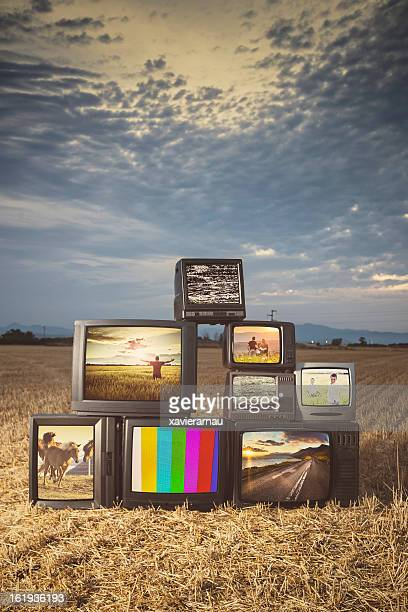 放送 - insight tv ストックフォトと画像