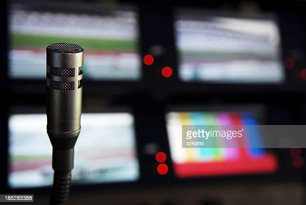 studio de radiodiffusion