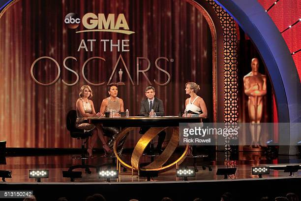 """Broadcasts live from Los Angeles for the annual Post-Oscar show with highlights and recaps from some of the night's big winners. """"Good Morning..."""