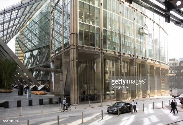 Broadgate Plaza in the City of London