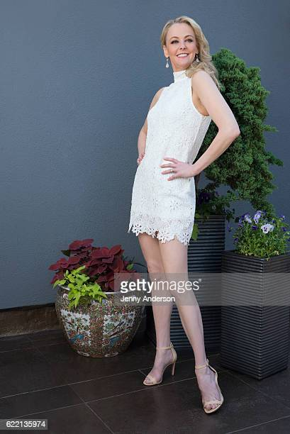 Broadway actress Angie Schworer is photographed for New York Lifestyles Magazine at The Peninsula Hotel on June 7 2016 in New York City PUBLISHED...