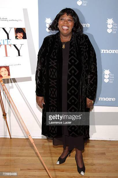 Broadway actress Carol Woods arrives at the Changing Destiny Awards and 50 Celebrate 50 Gala February 20 2002 in New York City The gala benefits Help...