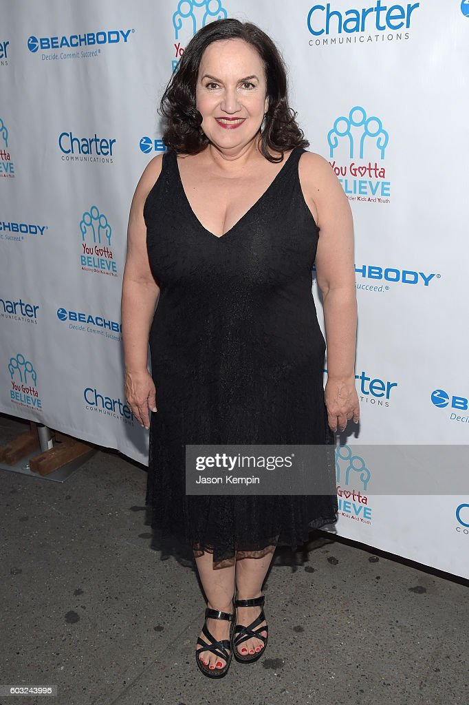Broadway actress Olga Mereditz attends the 2nd Annual Voices For The Voiceless: Stars For Foster Kids Benefit at the Al Hirschfeld Theatre on September 12, 2016 in New York City.