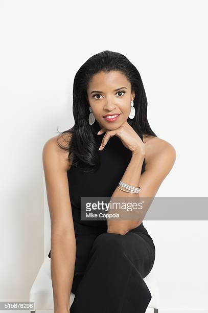 Broadway actress Renee Elise Goldsberry is photographed on August 13 2015 in New York City
