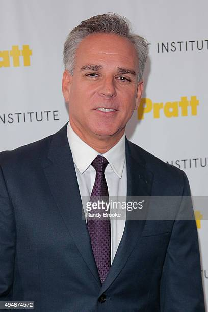 Broadway and film Producer Director Craig Saavedra attends the Pratt Legends 2015 Gala at Mandarin Oriental Hotel on October 29 2015 in New York City