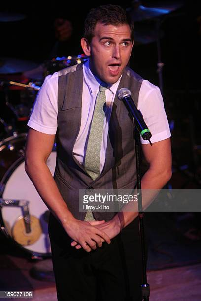 Broadway Cabaret Festival Tribute to Lerner and Loewe at the Town Hall on Friday night October 17 2008This imageDaniel Reichard performing I Never...