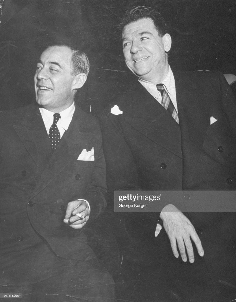 Oscar II Hammerstein;Richard Rodgers : Nachrichtenfoto