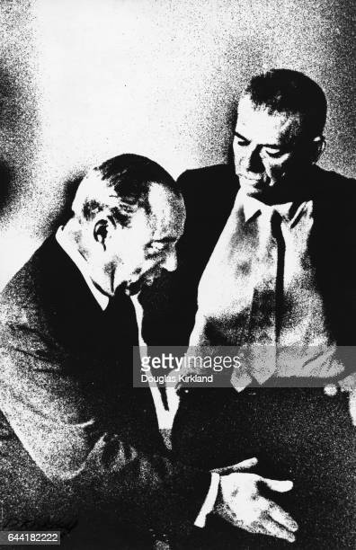 Broadway composers Richard Rodgers and Oscar Hammerstein
