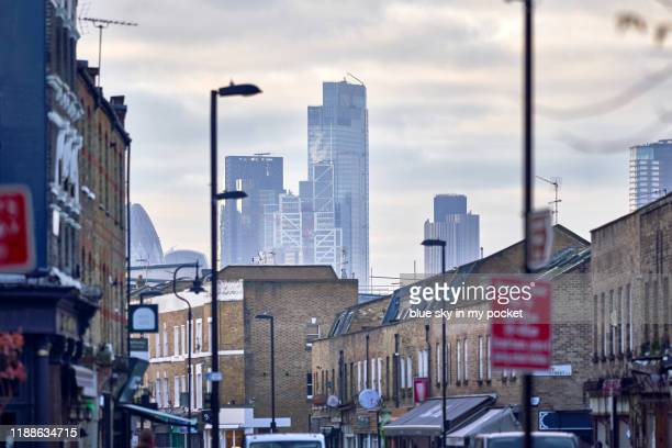 broadway market london - east london stock pictures, royalty-free photos & images