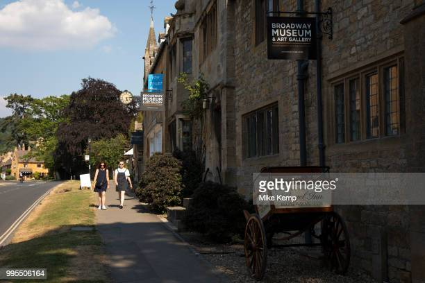 Broadway Museum and Art Gallery in The Cotswolds United Kingdom Broadway village lies beneath Fish Hill on the western Cotswold escarpment The broad...