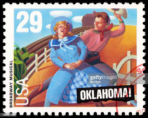 musical da broadway - oklahoma - fotografias e filmes do acervo