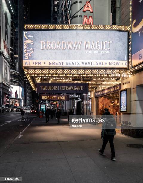 broadway new york city - broadway stock pictures, royalty-free photos & images