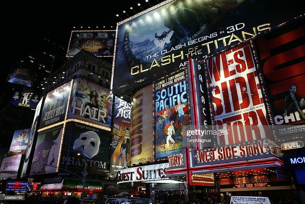 Broadway New York City : Stock Photo