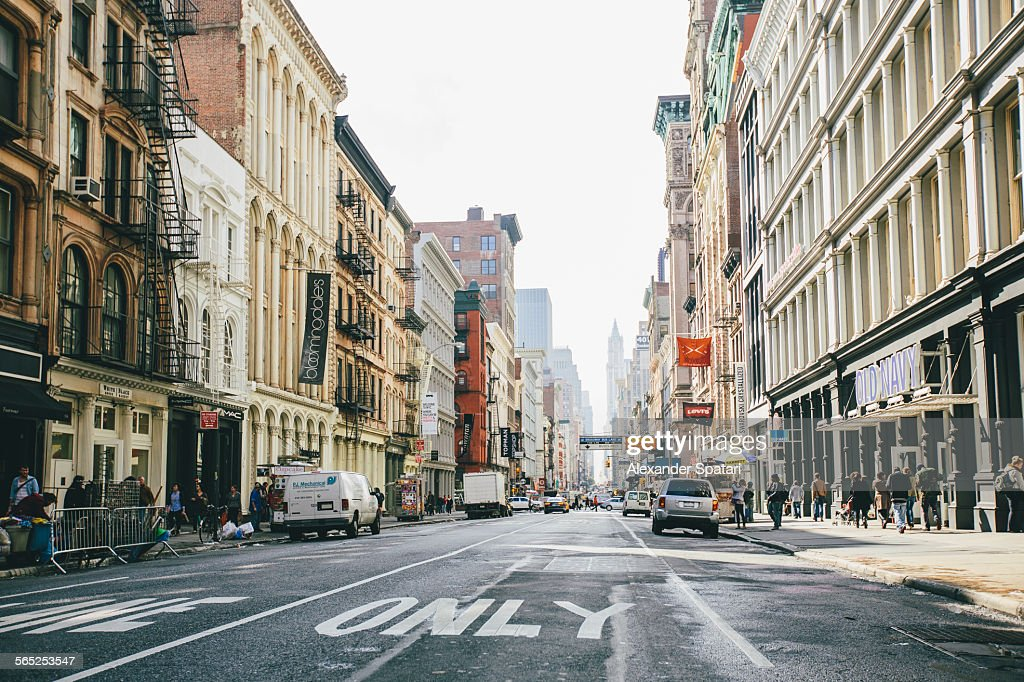 Broadway, Soho, New York City, United States : Stock Photo
