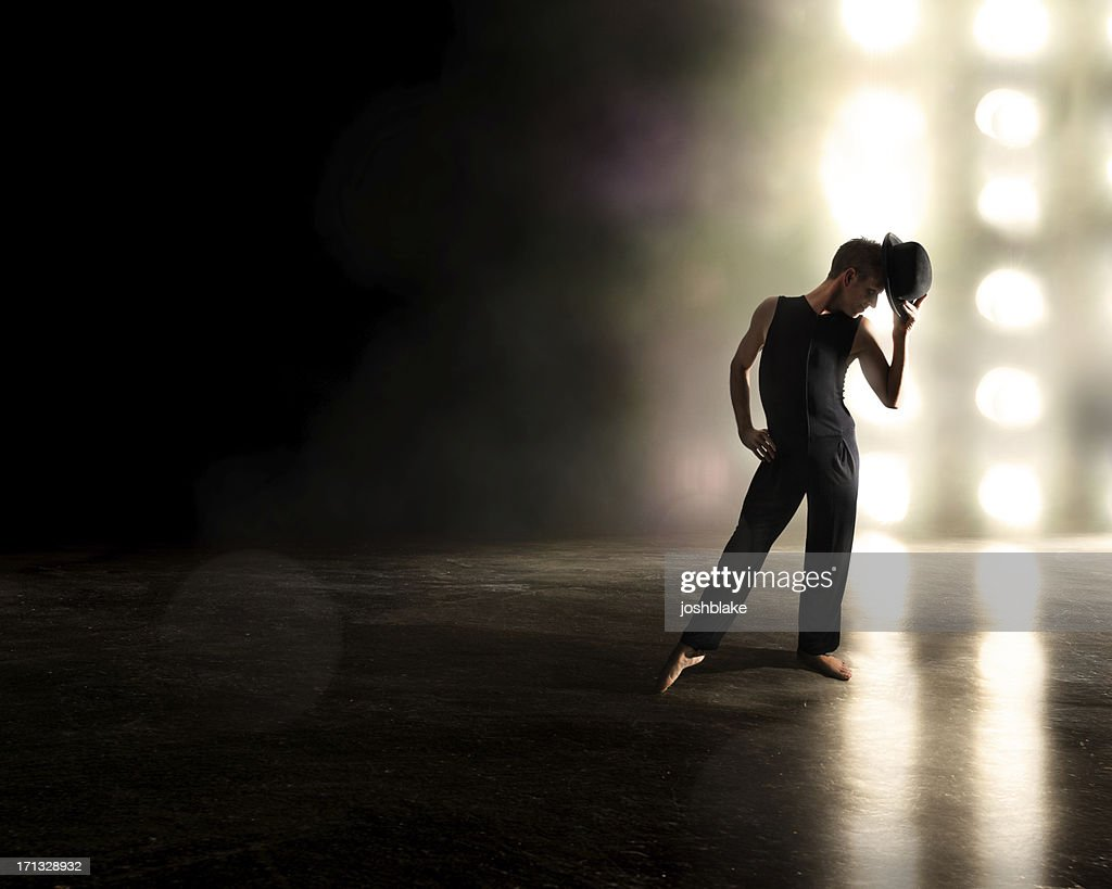 Broadway Style Performer : Stock Photo