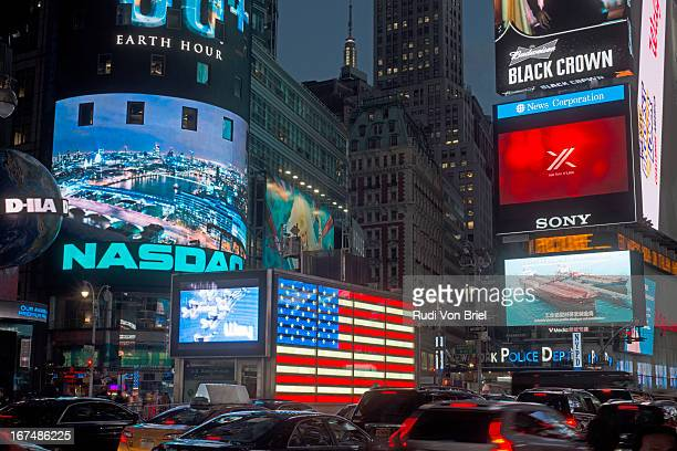 Broadway, Times Square, NYC.