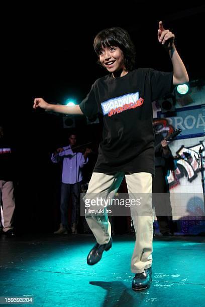 'Broadway Underground' at BB King Blues Club Grill on Monday night September 8 2008This imageDario Natarelli tapdancing