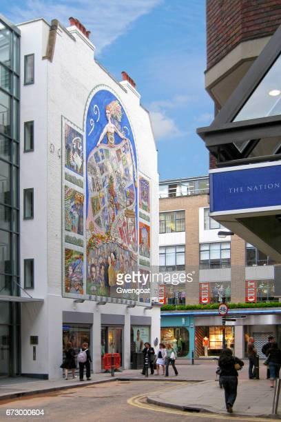 broadwick street in london - gwengoat foto e immagini stock