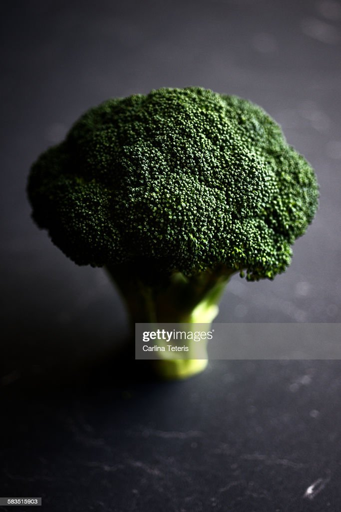Broccoli head : Stock Photo