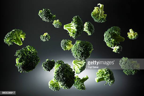Broccoli in the air