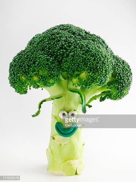 broccoli portrait - clay stock pictures, royalty-free photos & images