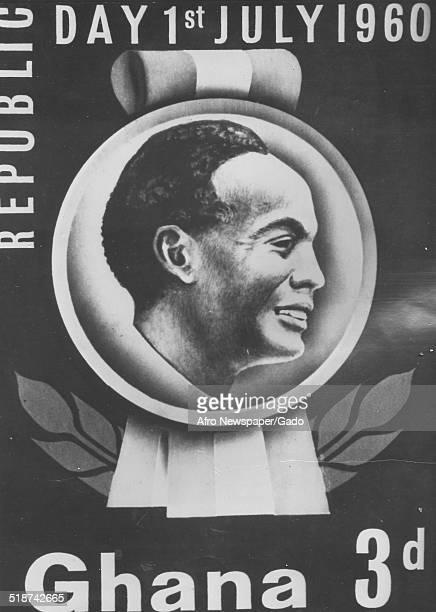 Brochure of former president of Ghana Kwame Nkrumah July 1960