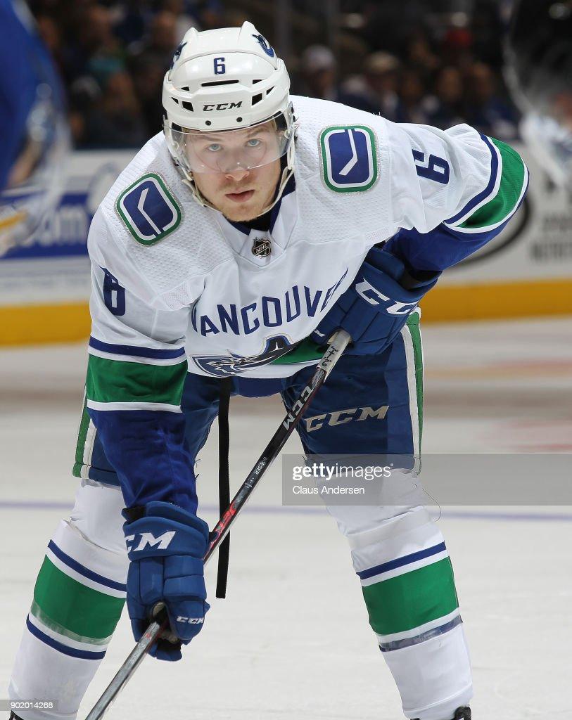 Vancouver Canucks v Toronto Maple Leafs