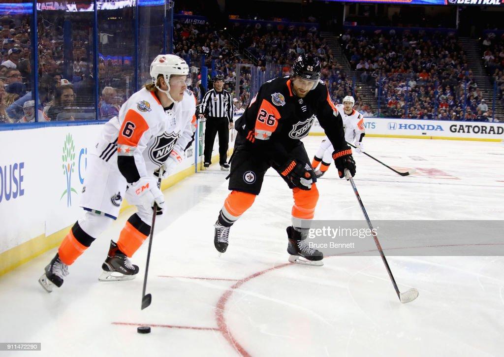 2018 Honda NHL All-Star Game - Central v Pacific : News Photo