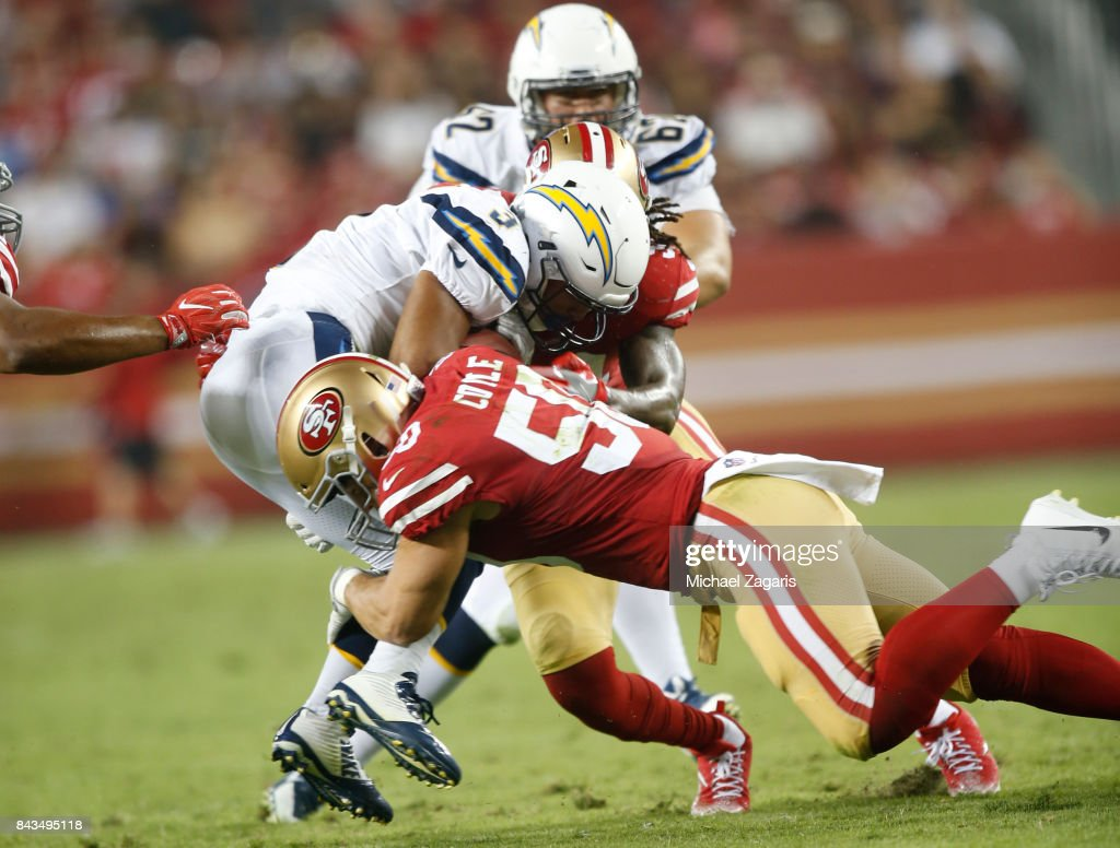 Los Angeles Chargers v San Francisco 49ers