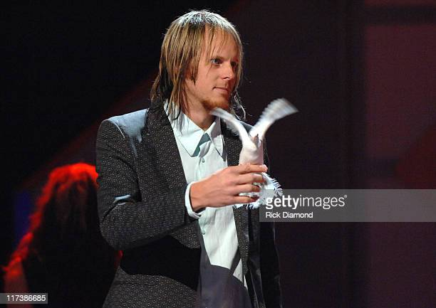 Brock Gill during 38th Annual GMA DOVE Awards - Pre Show at Grand Old Opry in Nashville, Tennessee, United States.