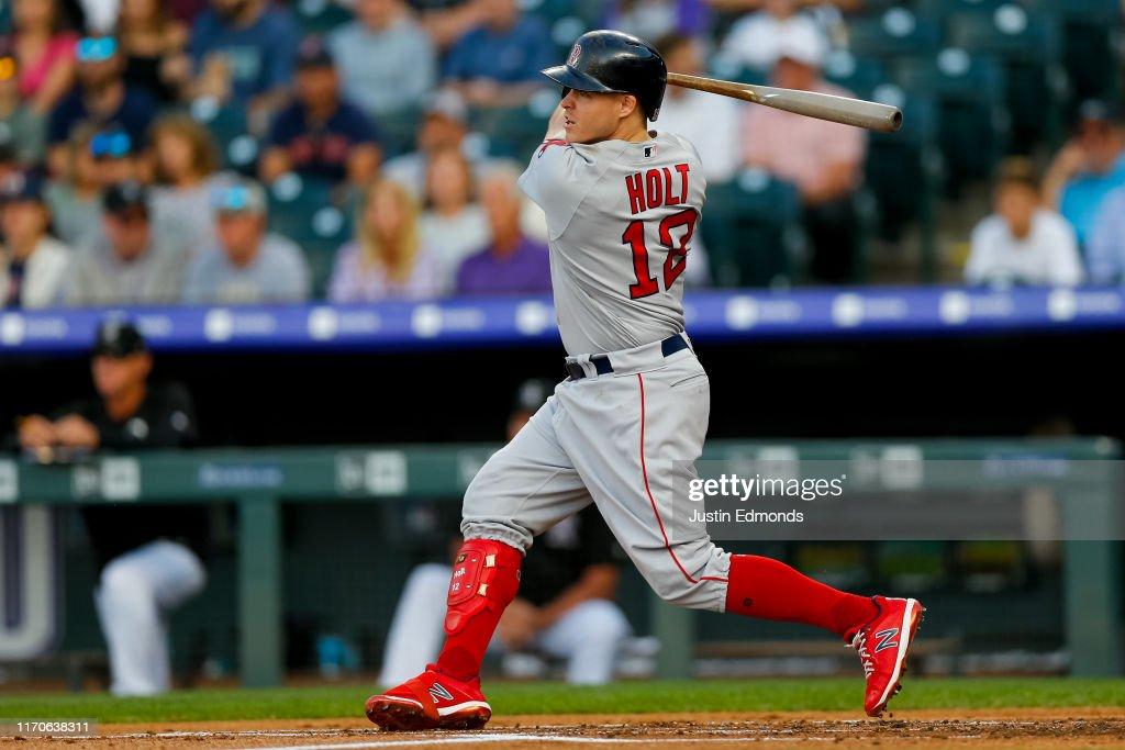 Boston Red Sox v Colorado Rockies : News Photo