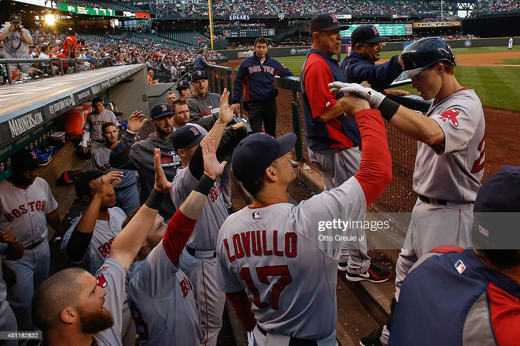 Boston Red Sox v Seattle Mariners : News Photo