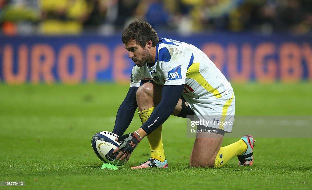 ASM Clermont Auvergne v Northampton Saints - European Rugby Champions Cup Quarter Final : News Photo