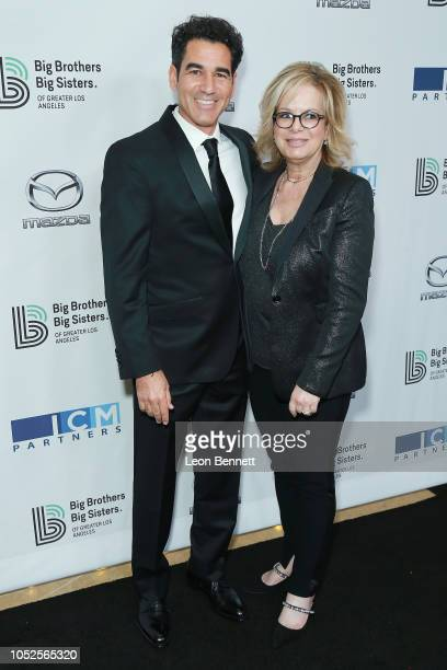 Brock Moseley and Laura Lizer attend Big Brothers Big Sisters Of Greater Los Angeles Big Bash Gala arrivals at The Beverly Hilton Hotel on October 19...