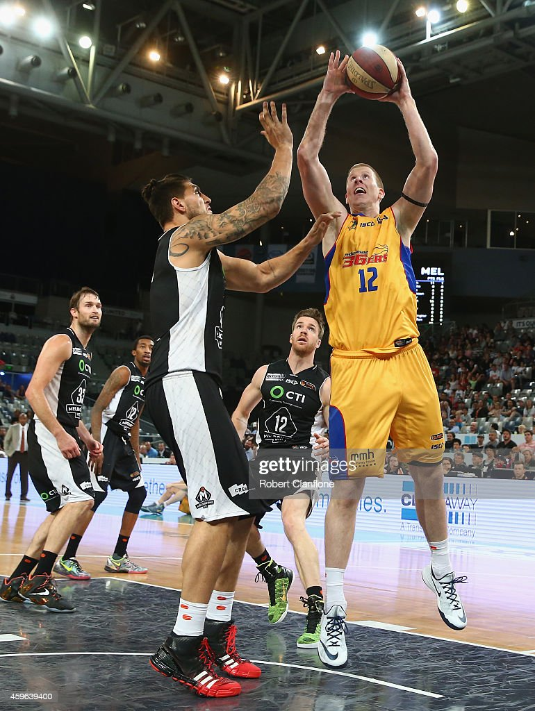NBL Rd 8 - Melbourne v Adelaide : News Photo