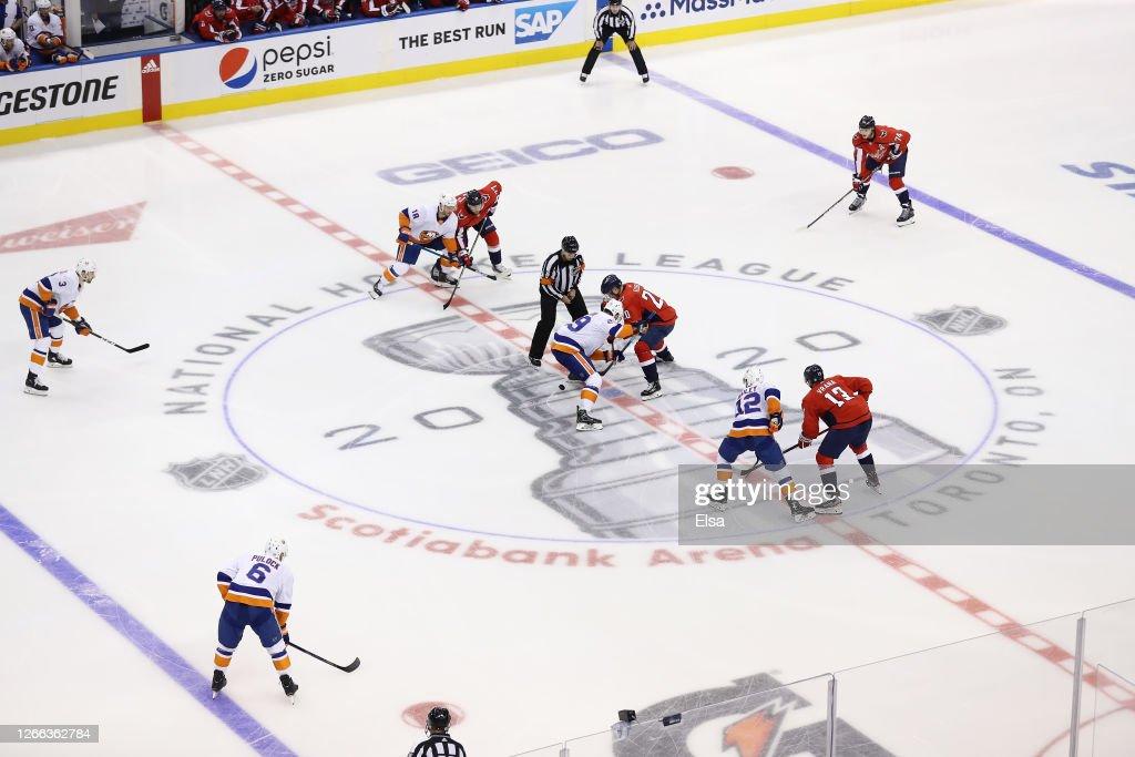 Washington Capitals v New York Islanders - Game Two : News Photo