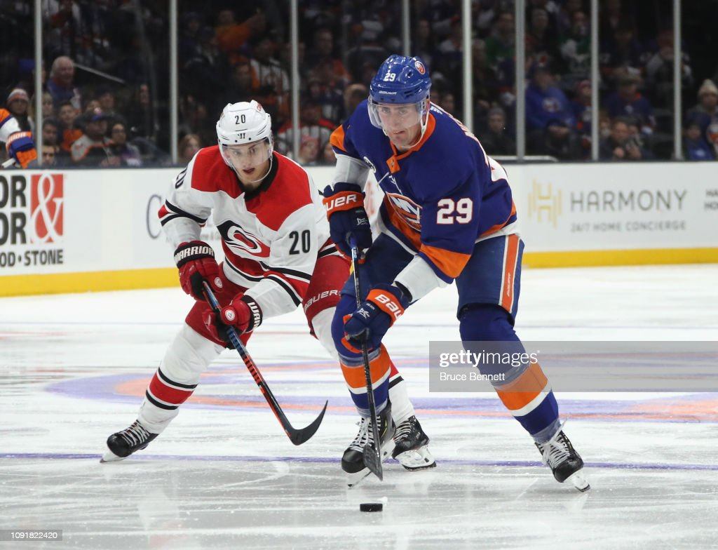 Carolina Hurricanes v New York Islanders : News Photo