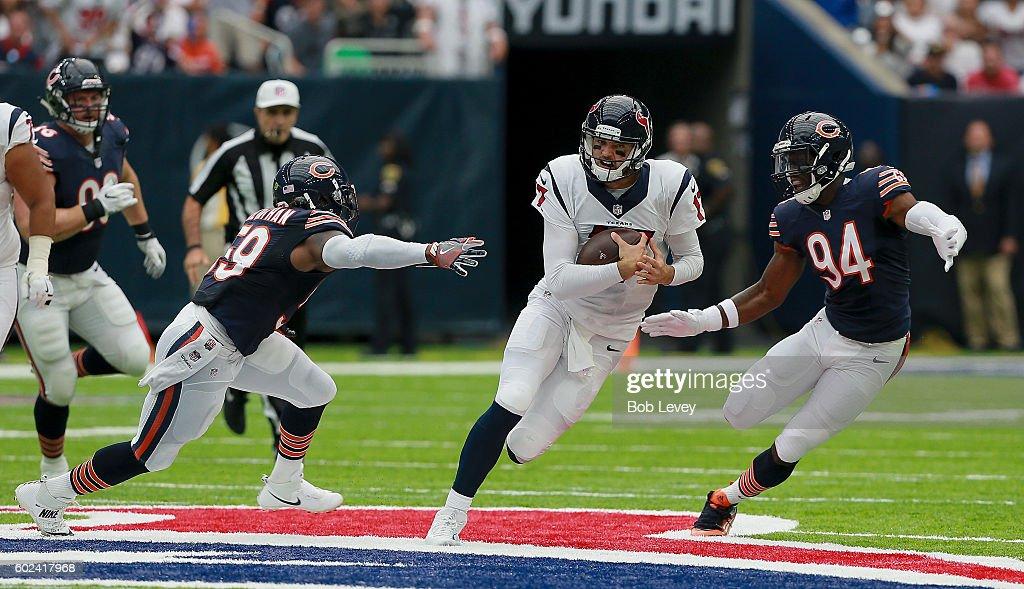 Chicago Bears v Houston Texans : News Photo