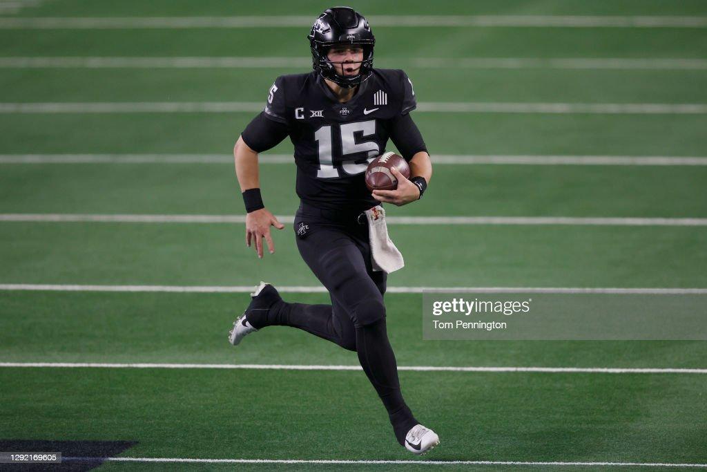 Big 12 Championship - Iowa State v Oklahoma : News Photo