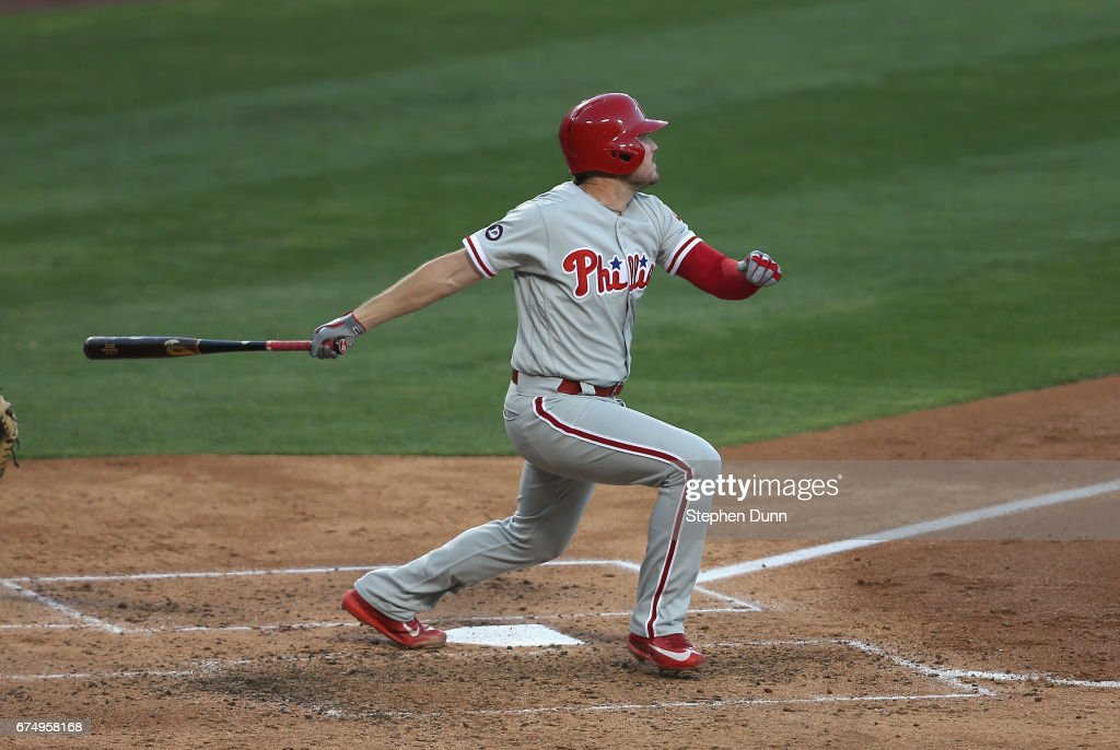 Philadelphia Phillies v Los Angeles Dodgers : Foto jornalística