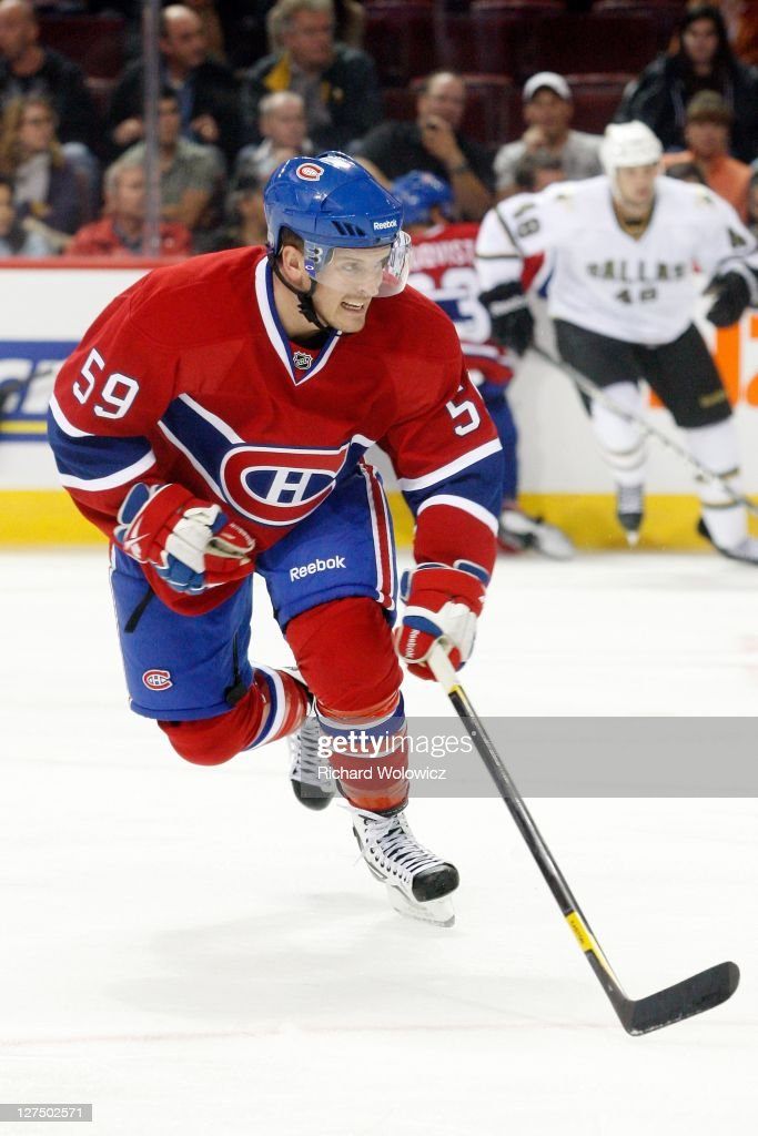 Dallas Stars v Montreal Canadiens : News Photo