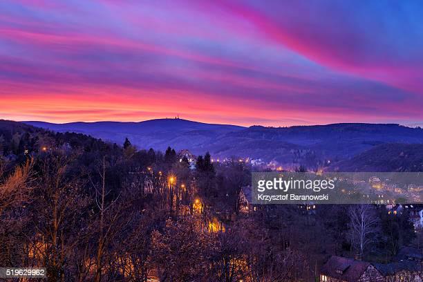 Brocken Romantic Sunset