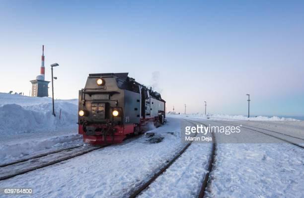 Brockenbahn at Dusk