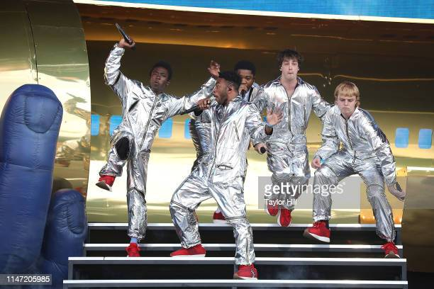 Brockhampton performs onstage for Day 1 of 2019 Governors Ball Music Festival at Randall's Island on May 31 2019 in New York City