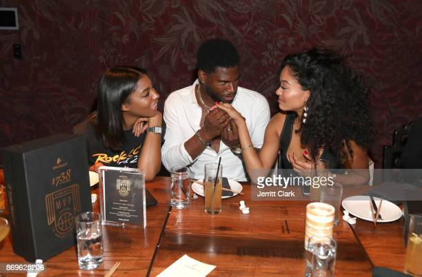 Broderick Hunter attends The MVP Experience Launch Dinner hosted by The House of Remy Martin at Tao on November 2 2017 in Los Angeles California